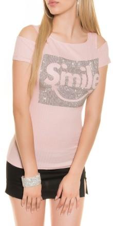 MAGLIETTA DONNA SMILE